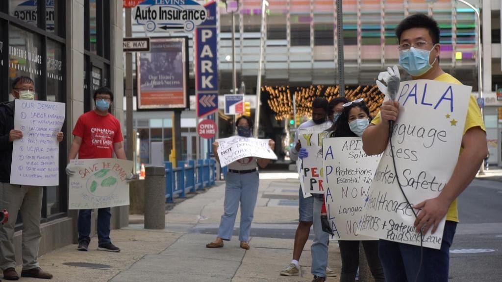 Philly's API Workers Rally for Labor Enforcement and Language Justice
